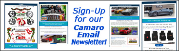Phastek Camaro Email Newsletter signup