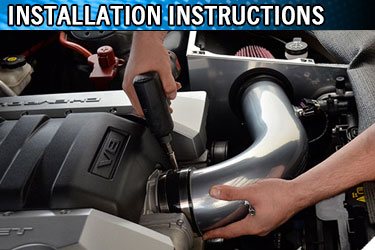 Installation Instruction PDF files for aftermarket Camaro parts and upgrades