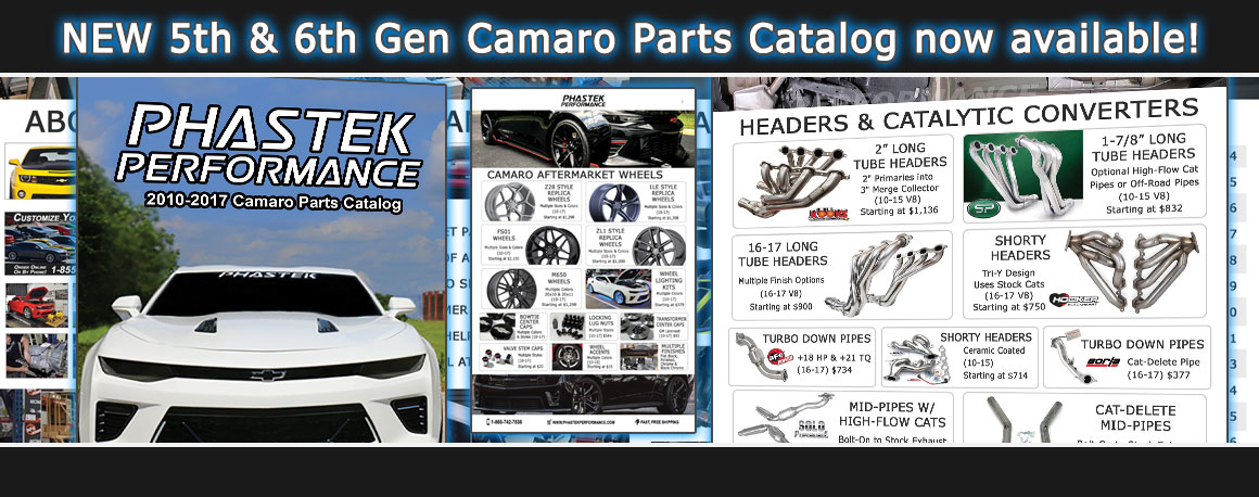 Phastek Camaro Parts Catalog Order link
