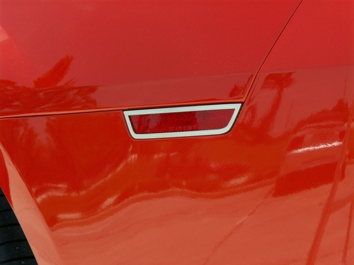 2010-2013 Camaro Rear Side Marker Trim Stainless Steel