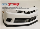 ACS T4 Style Front Splitter #46-4-001 2014-2015 Camaro SS