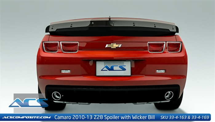 2014 Z 28 Camaro Style Rear Spoiler By Acs Composite 33 4