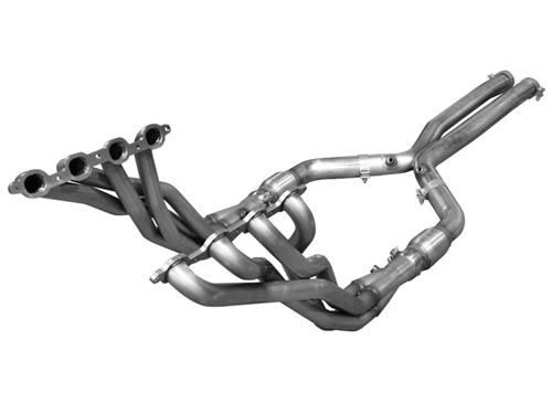 Arh 2016 2017 Camaro Long Tube Headers 1 7 8 Quot Intermediate