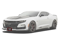 STO N SHO 2016-2017 Camaro Detachable License Plate SNS89A for GM Front Splitter