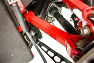 BMR 2016-2017 Camaro Rear Upper Trailing Arms UTCA058 - Non Adjustable with Poly Bushings - BMR Suspension