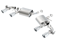 2016-2017 Camaro V6 Borla S-Type Exhaust 11931 Axle-Back - With NPP - Quad Tips