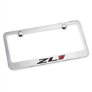 2012-2015 Camaro ZL1 License Plate Frame Chrome