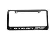 Camaro SS License Plate Frame Gloss Black 2010-2015