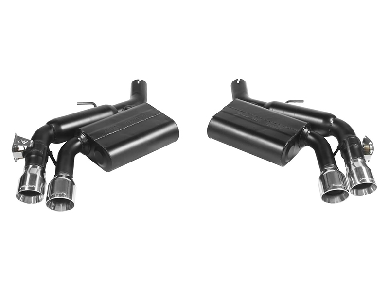 2016 Camaro Ss Lt1 Accessory Drive On L83: Flowmaster 2016-2017 Camaro Axle Back Exhaust 817746