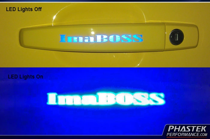Custom Camaro Illuminated Door Handle Lights 2010 2011 2012 Camaro