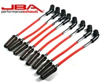2010-2015 Camaro SS JBA 'Power Cables' Ignition Wires, 8mm Red #W0812