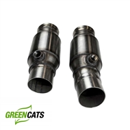 "Kooks 3"" x 2 1/2"" OEM Connection Pipes WITH Green cats (for connection to OEM or Kooks exhaust) #22603300 :: 2016-2017 Camaro V8"
