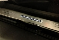Camaro Custom LED Illuminated Door Sills by KPI - fits all 2010, 2011, 2012, 2013, 2014, 2015 Camaro models