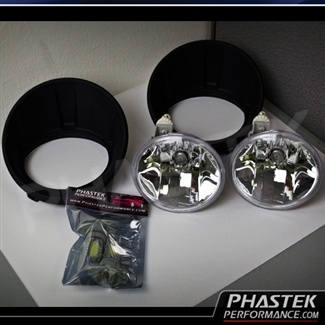 PHASTEK CAMARO FOG LIGHTS 2T factory fog lights add on kit upgrade for 2010, 2011, 2012, and Plastic Wiring Harness Cover at couponss.co
