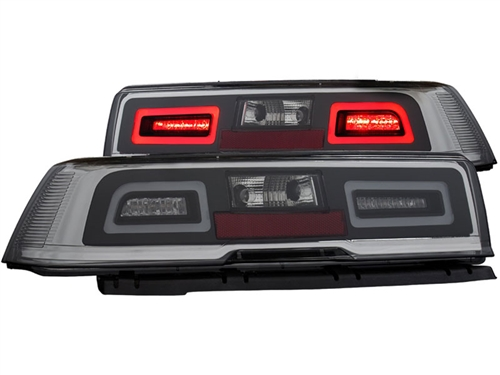 2014 2015 non rs camaro l e d tailights with red lens and l e d brake. Cars Review. Best American Auto & Cars Review