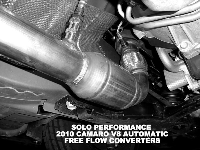 Larger Photo: 2010 Chevrolet Camaro Catalytic Converter At Woreks.co