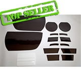 Camaro ZL1 Headlamp, Turn Signals, and Fog Light Black-Out / Lens Protection Kit (clear or smoked finish) - fits all 2012-2015 Camaro ZL1 Models