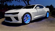 RGB Wheel Ring Kit:: Fits all 2010-2017 Camaro models