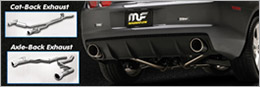 Camaro Cat-Back Axle-Back Exhaust Systems for sale