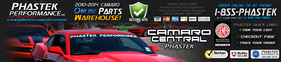 Phastek Performance Camaro Parts Online Store - Shop Online - Phastek Camaro Central