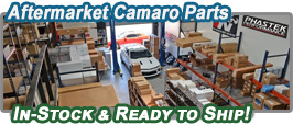 Aftermarket Camaro Parts In-Stock Ready to Ship