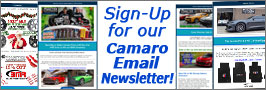 Join our Camaro Newsletter