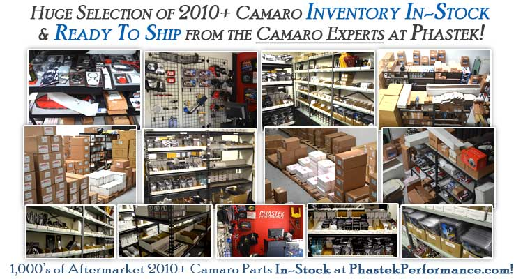 Phastek Performance Camaro Parts Warehouse & Online Store