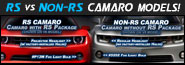 2010+ Camaro RS vs non-RS comparison