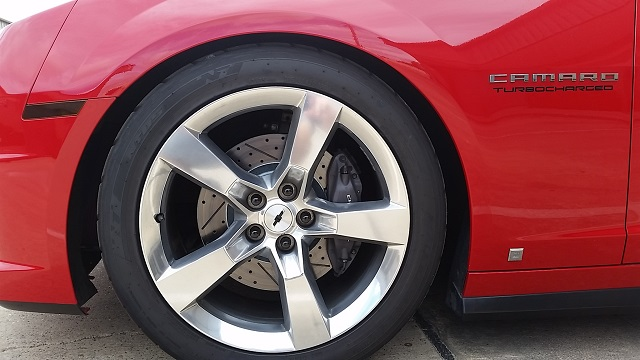 Camaro Decelarotor Brake Rotors Drilled And Slotted