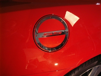 2010 2015 Camaro Fuel Door Cover Quot Ss Quot Polished 102013