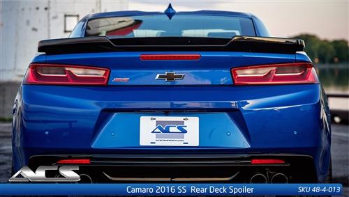 2016 2018 Camaro Ss 6 Rear Deck Spoiler 48 4 013 By Acs