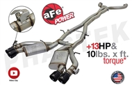 2016-2017 Camaro aFe Power Cat Back Exhaust MACH Force-Xp #49-34069