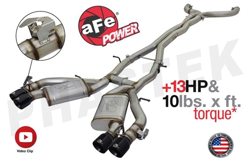 2016 2018 Camaro Afe Power Cat Back Exhaust Mach Force Xp
