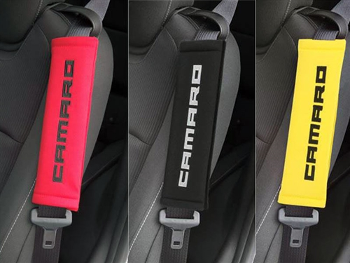 Quot Camaro Quot Seatbelt Harness Pads Pair Sd3 Xa367 For Years