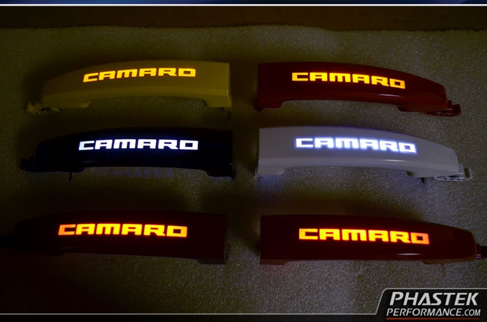 phastek 2010 2011 2012 2013 2014 2015 camaro illuminated door handles by gator customs. Black Bedroom Furniture Sets. Home Design Ideas