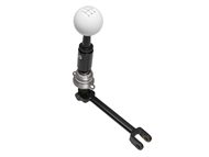 2016-2017 Camaro SS 6 Billet/Plus Short Throw Shifter by Hurst w/ Classic White Ball Handle 3916031