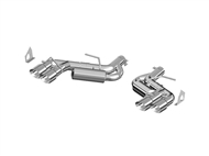 MBRP 2016-2017 Camaro Axle Back Exhaust S7036AL Aluminized Steel - Installer Series Exhaust