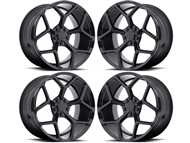 Camaro Z28 Style Wheels Gloss Black fits all 2016-2018 Camaro SS, LS, LT, RS, non-RS, 1LE & ZL1 Models