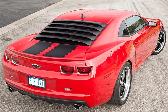 2010 2015 Camaro Rear Window Louver With Prop Kit 12a144