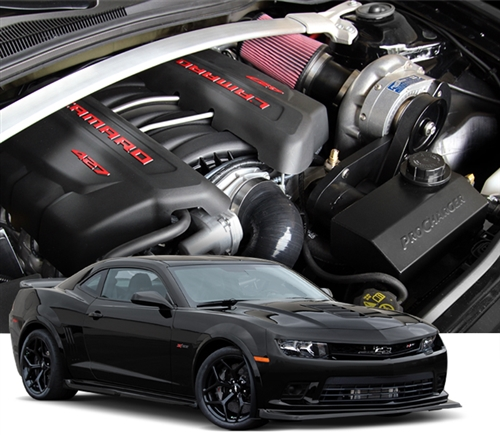 Mustang V6 Turbo Kits: Z/28 Camaro ProCharger LS7 Supercharger Kit