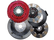 RAM Dual Disc Clutch Clutch Force 10.5 Steel Flywheel 2010-2015 Camaro SS
