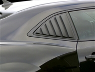 Camaro Willpak Side Window Louvers in ABS Plastic #10567 - fits all 2010, 2011, 2012, 2013, 2014, 2015 Camaro models