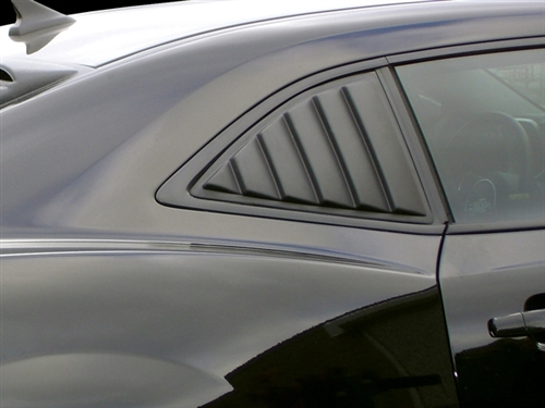 Camaro Willpak Side Window Louvers In Abs Plastic 10567 Fits All 2010 2015 Camaro Models