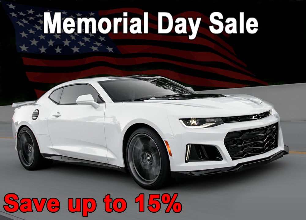 Phastek Memorial Day Camaro Parts Sale