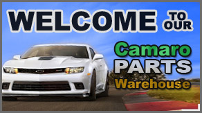 Welcome to our Camaro Parts Warehouse