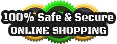 100% Safe & Secure Online Shopping